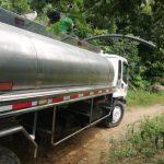 Camión extractor de aguas residuales